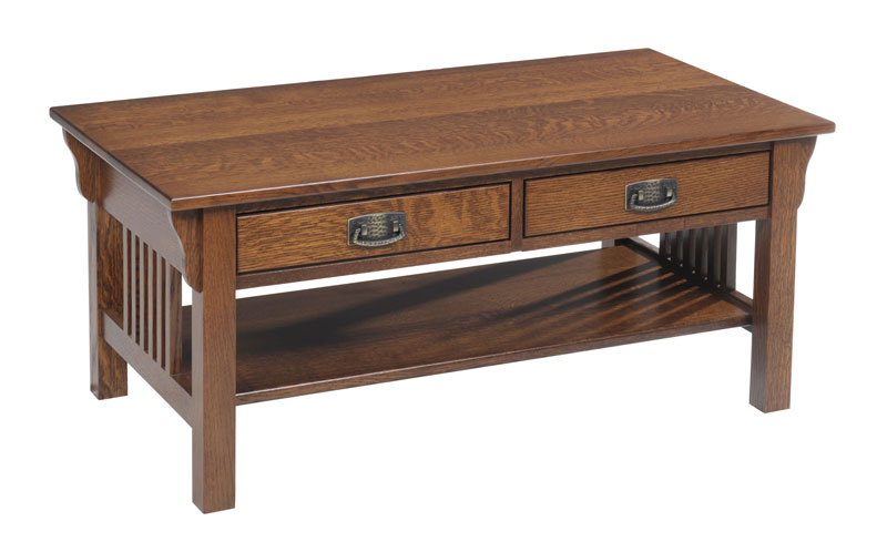 Lexington Mission 614 Coffee Table with Drawers