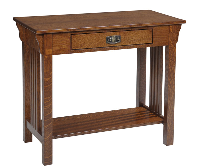 Lexington Mission 616 Sofa Table with Drawer
