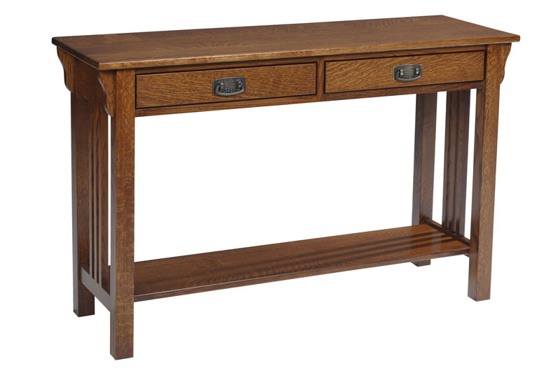 Lexington Mission 617 Hall Table with Drawers