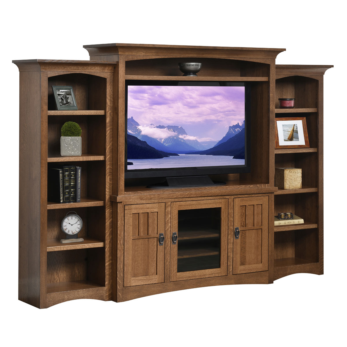 Liberty Mission 3 Door Entertainment Center