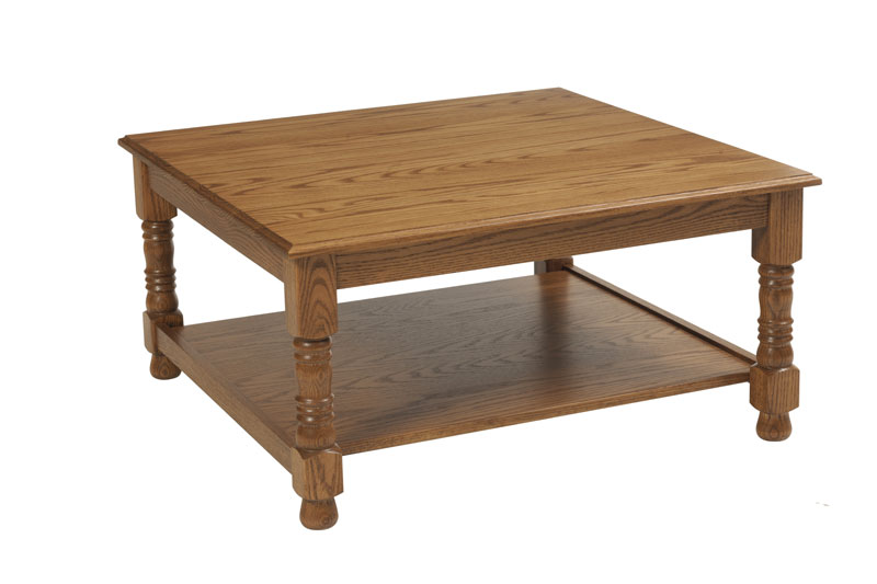 Traditional 396 Square Coffee Table