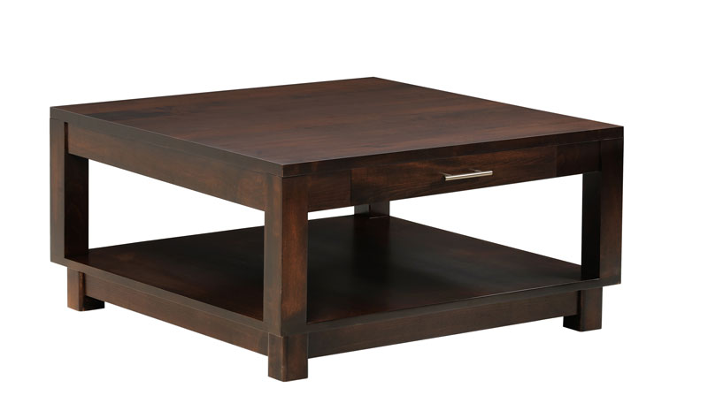 Urban 538 Square Coffee Table with Drawer