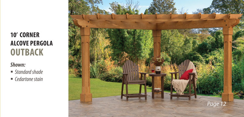 Woodworking patterns motorcycle wood plans patio for How to build a corner pergola
