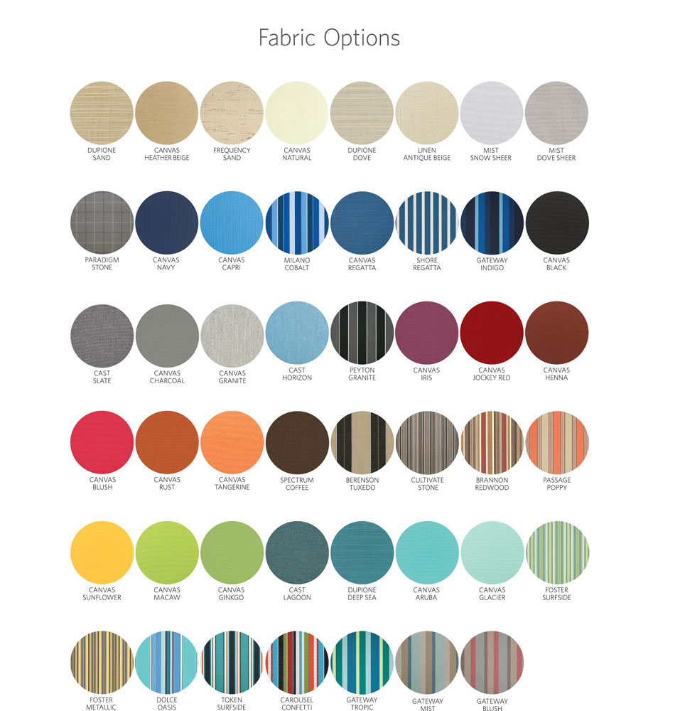 Curtain Fabric Options
