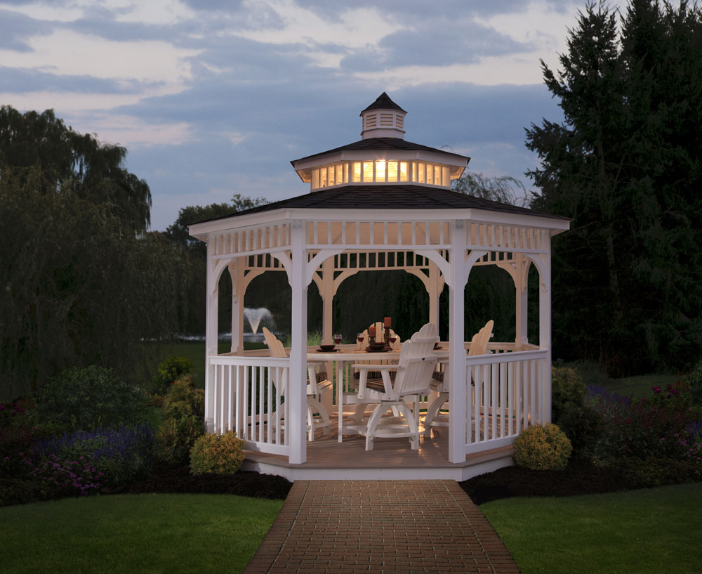 Lexington Vinyl Gazebo Ohio Hardwood & Upholstered Furniture
