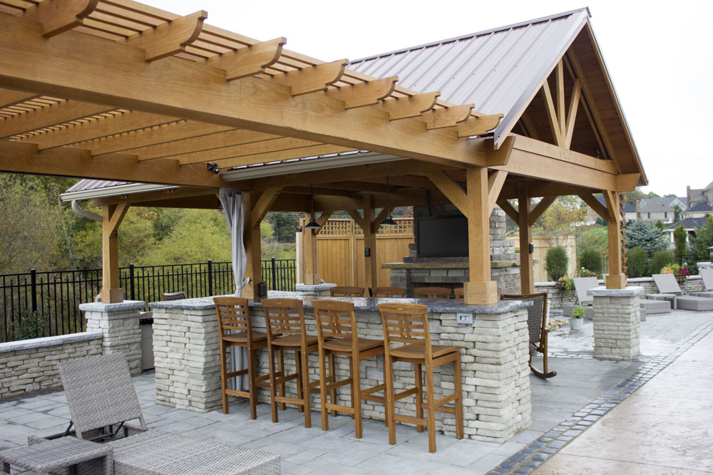 Breckenridge Wood Pavilion Ohio Hardwood Furniture