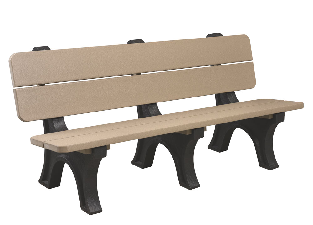 Poly Park Bench