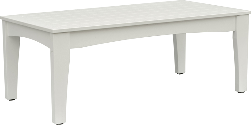 Classic Terrace Coffee Table in White