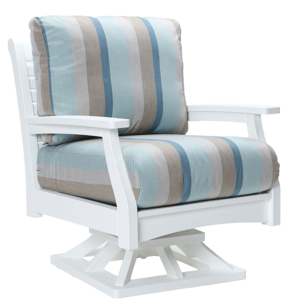 Classic Terrace Swivel Rocker