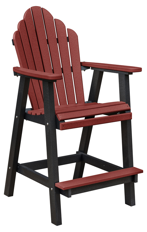Cozi Back Bar Chair Ohio Hardwood Furniture