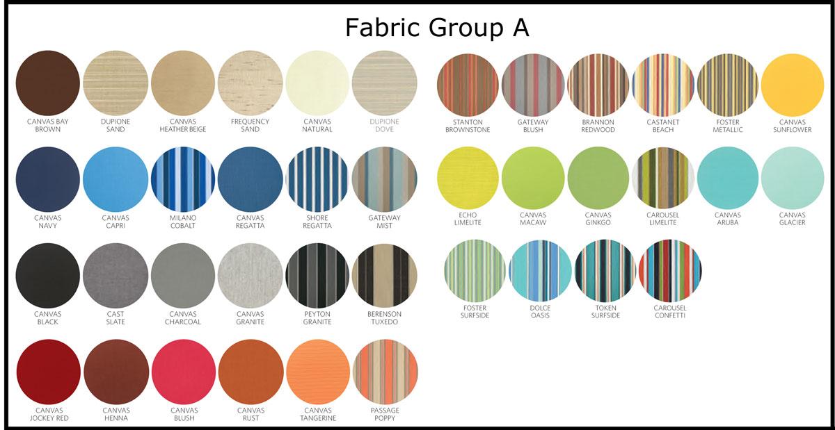 sunbrella cushion fabrics group a