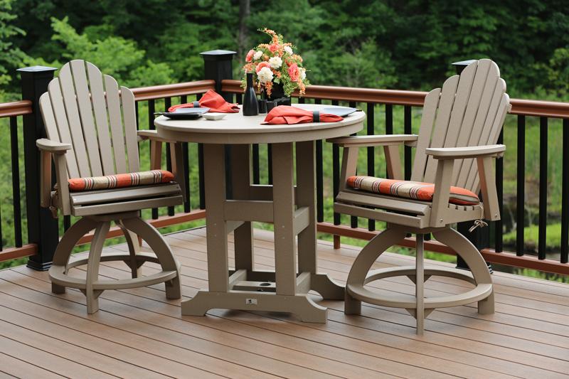 Elegant Garden Classic 38 Round Table Ohio Hardwood Furniture