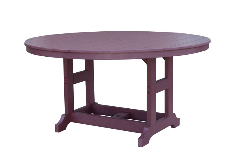 "Garden Classic 60"" Round Table at Dining Height"