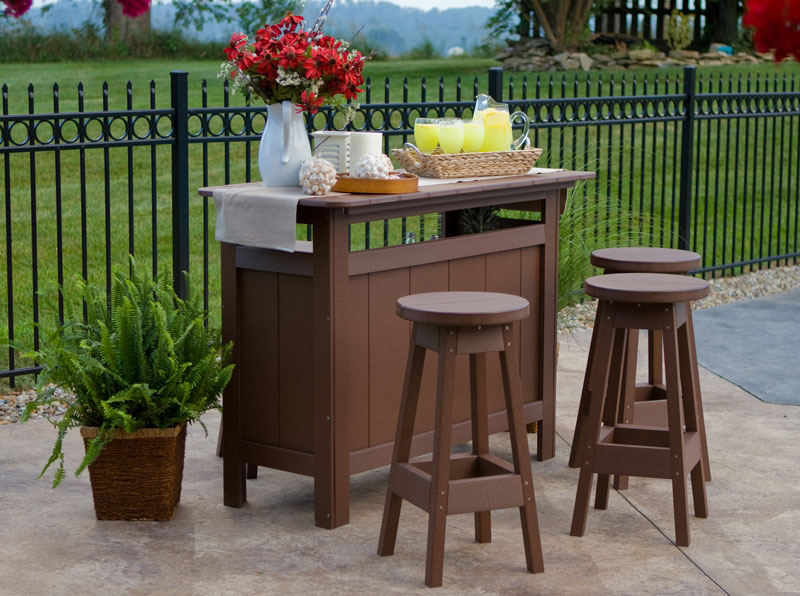 Outdoor Bar Ohio Hardwood Amp Upholstered Furniture
