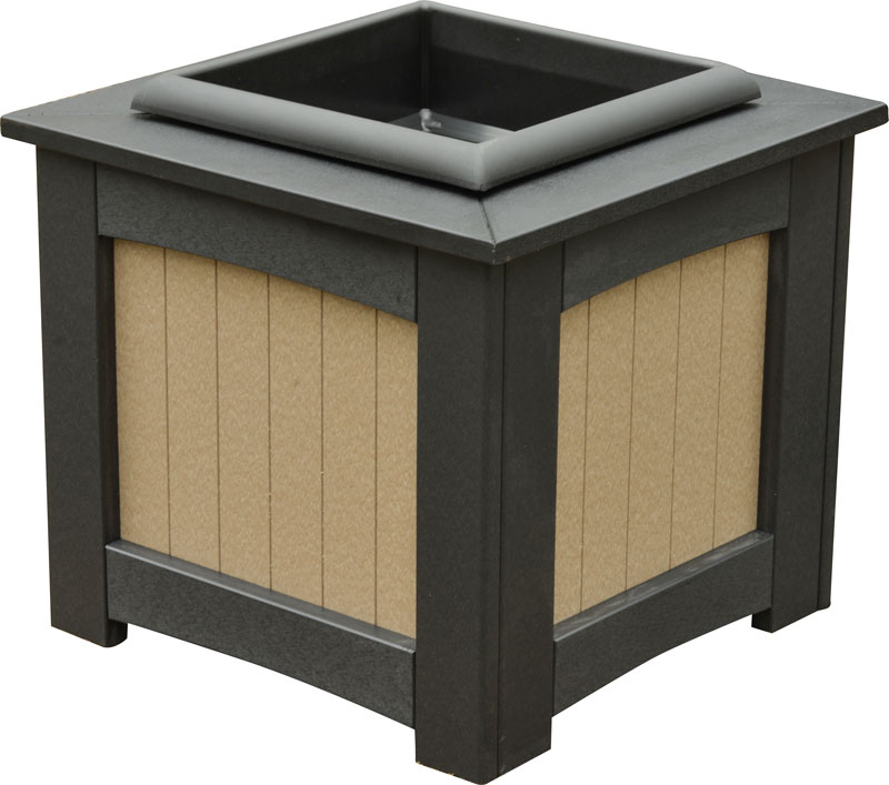 "18"" Square Planter ( includes insert)"