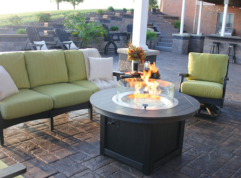Donoma Poly Top Fire Pit Ohio Hardwood Furniture