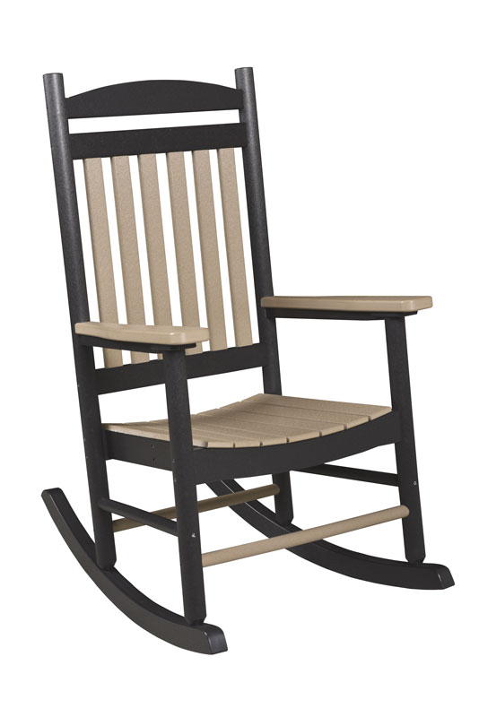 Poly Porch Rocker Ohio Hardwood Furniture