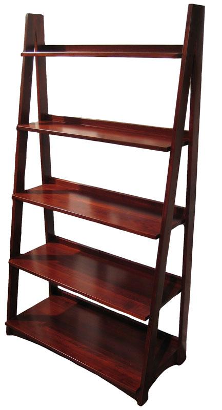 Ladder Bookcase Ohio Hardwood Amp Upholstered Furniture