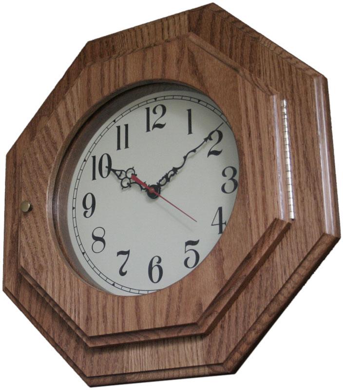 Octagon Clock Ohio Hardword Amp Upholstered Furniture