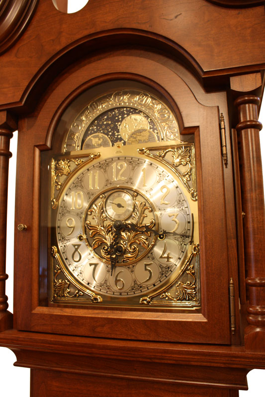 Winchester Grandfather Clock Ohio Hardword Amp Upholstered