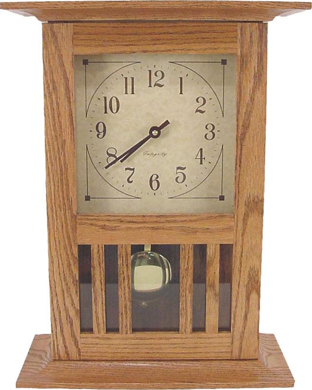 Mission Mantle Clock Ohio Hardword Amp Upholstered Furniture