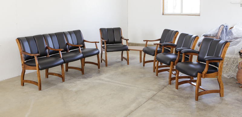 Edelweiss Client Chairs in Leather