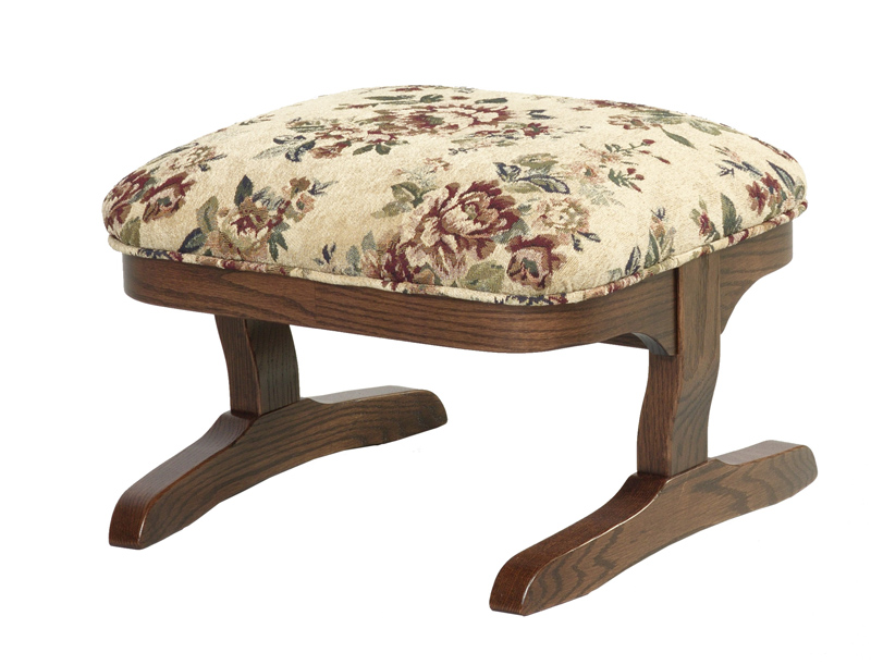 Terry Footstool - Non Rocking