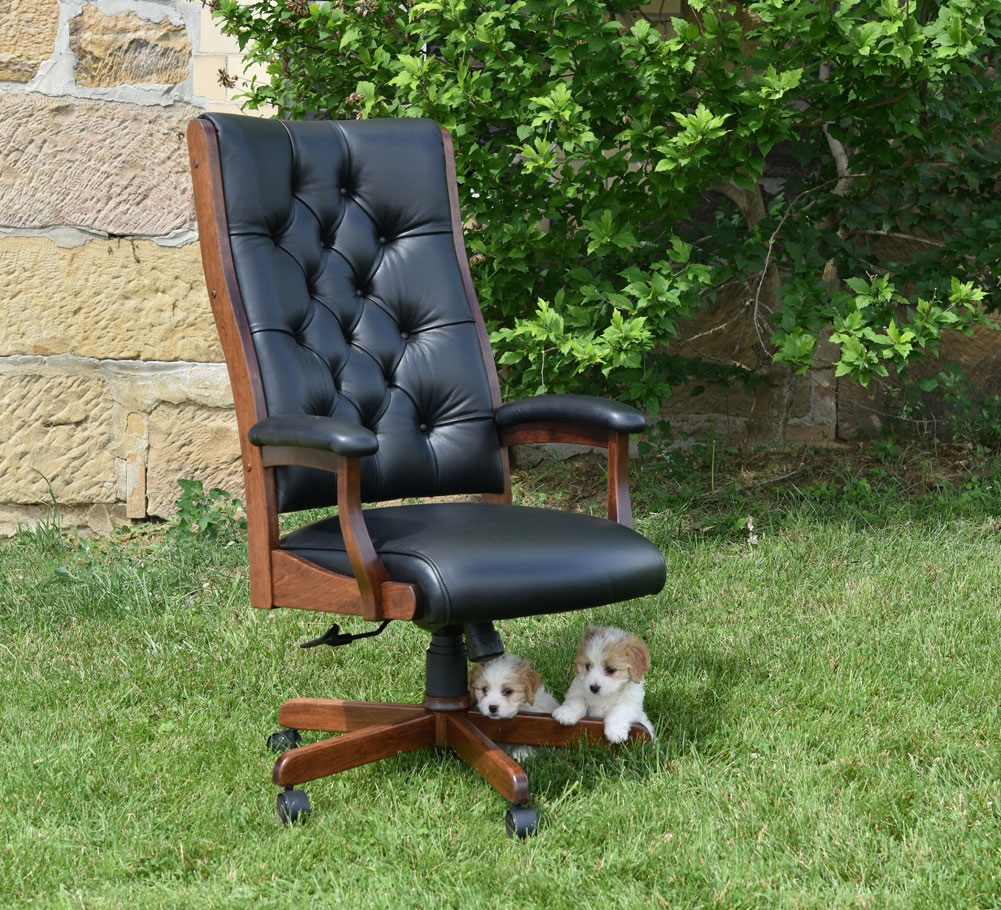 Clark Executive Tufted Chair