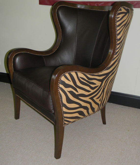 CC Leather 4053 Wing Chair