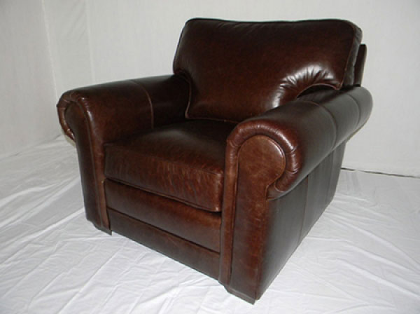 CC Leather 554 Tanner Chair