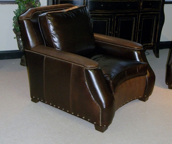 Carolina Custom Leather 815 Harrington Chair