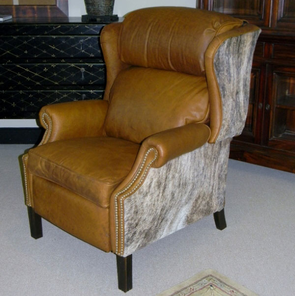 CC Leather 1777 Recliner