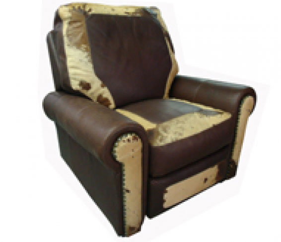 CC Leather 540  Dallas Recliner