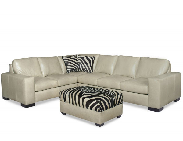 CC Leather 424 Lux Sectional