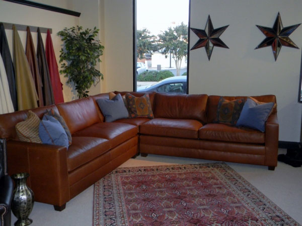 CC Leather 425 Sectional