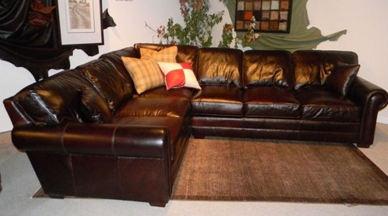 CC Leather 550 Restoration Sectional