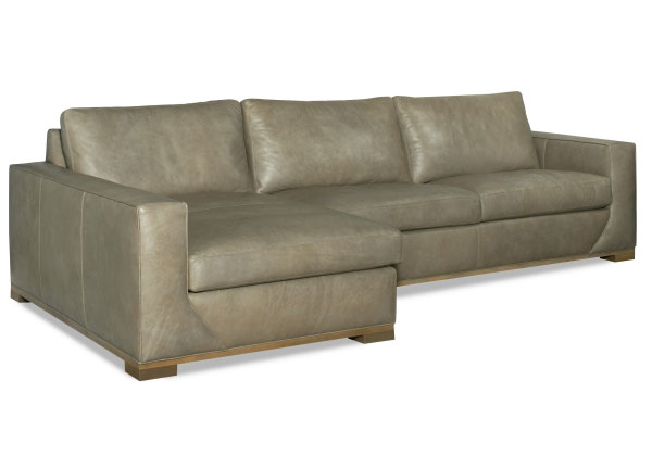 CC Leather 727 Puma Sectional