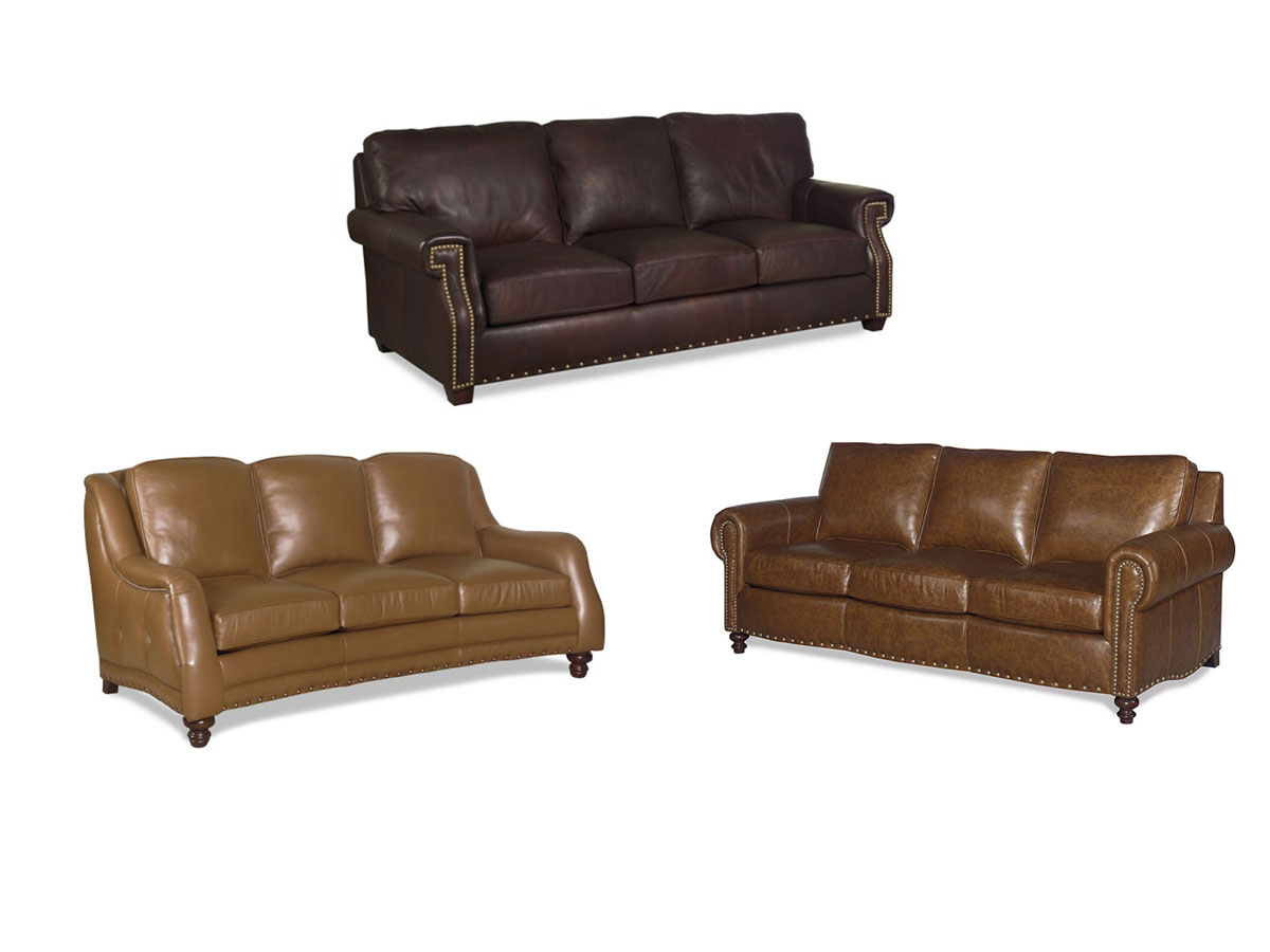 Carolina Custom Leather Sofa Program