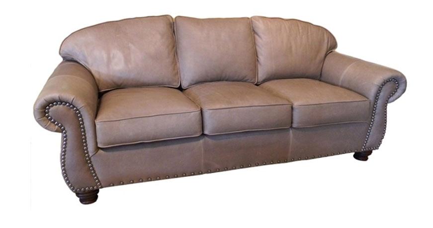 Carolina Custom Leather 220 03 Laredo Sofa