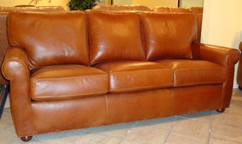 Beautiful Carolina Custom Leather 280 03 Sullivan Sofa