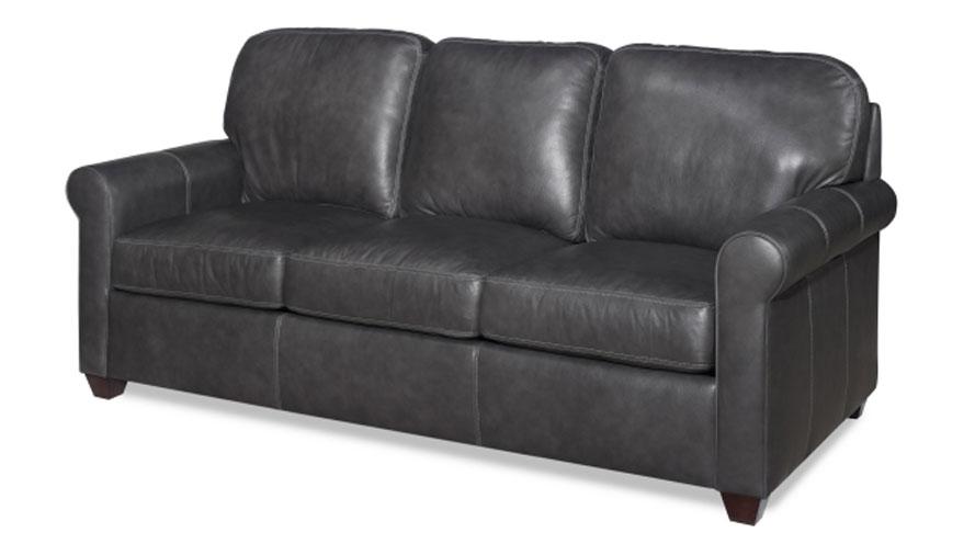 Cc Leather 281 Beaufort Sofa Ohio Hardwood Furniture