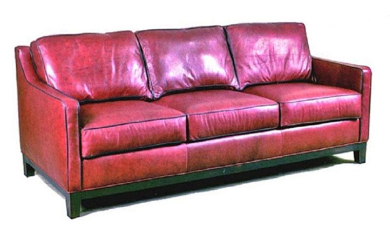 CC Leather 309 Kiawah Sofa - Ohio Hardwood Furniture