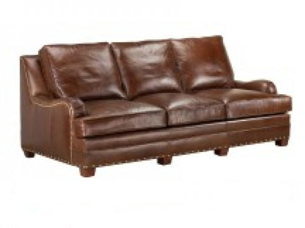 Nice CC Leather 800 Woodland Sofa