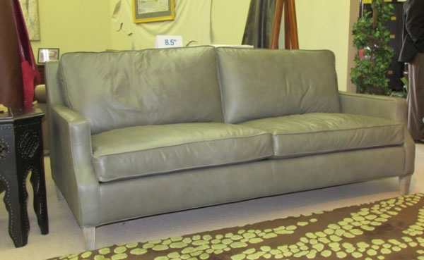 CC Leather 928 Quincy Sofa