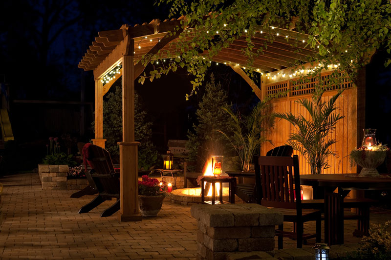 Riviera Wood Pergola Ohio Hardwood Furniture