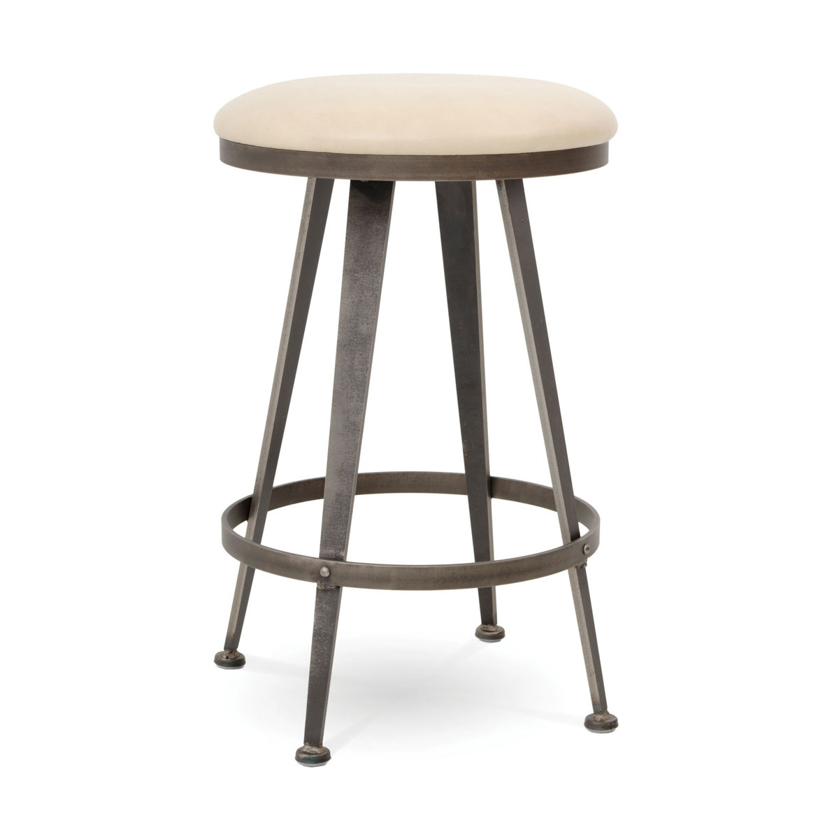 Astonishing Charleston Forge Aries Backless Swivel Barstool Ohio Caraccident5 Cool Chair Designs And Ideas Caraccident5Info