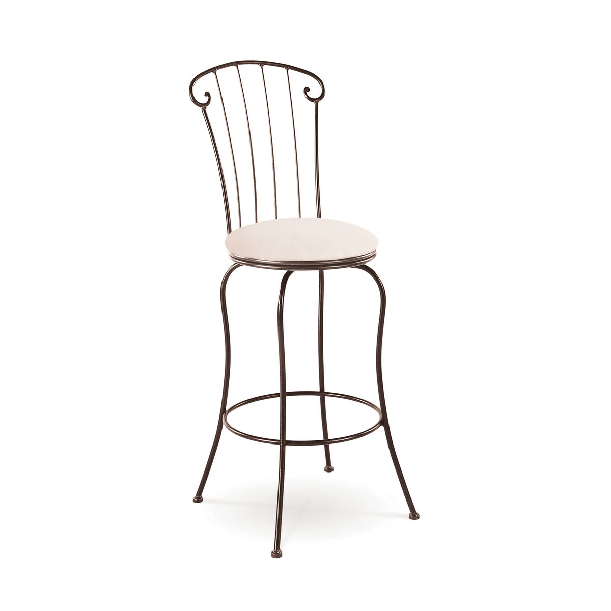 Charleston Forge Coventry Swivel Barstool