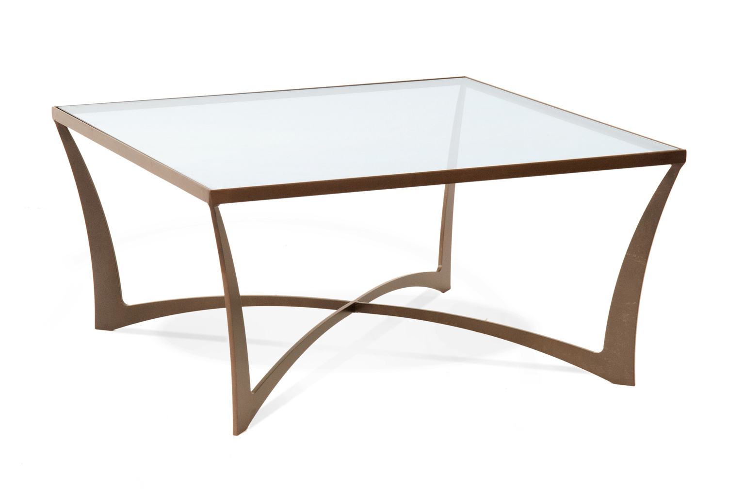 Charleston Forge Lotus Square Cocktail Table