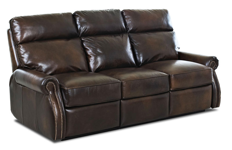 Jackie Reclining Sofa with Inside Handle Activation