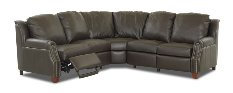 Lonestar Sectional CP780 In Durango Espresso Leather